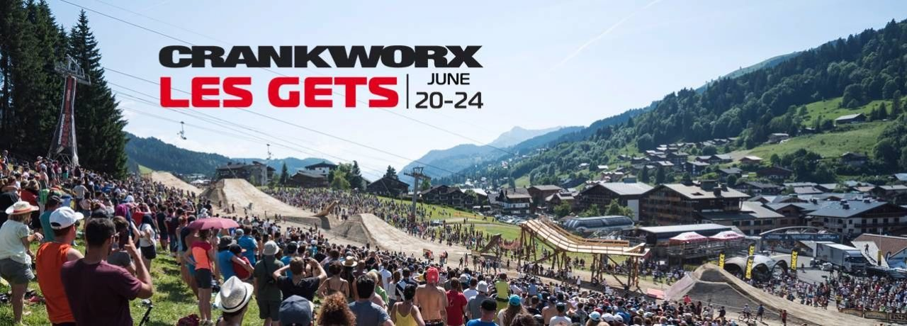 Crankworx Les Gets 2018 - UPDATED WITH NEW EVENTS AND CONCERTS